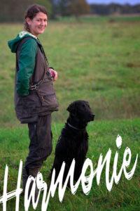 Melanie mit Onyx beim Hundesport