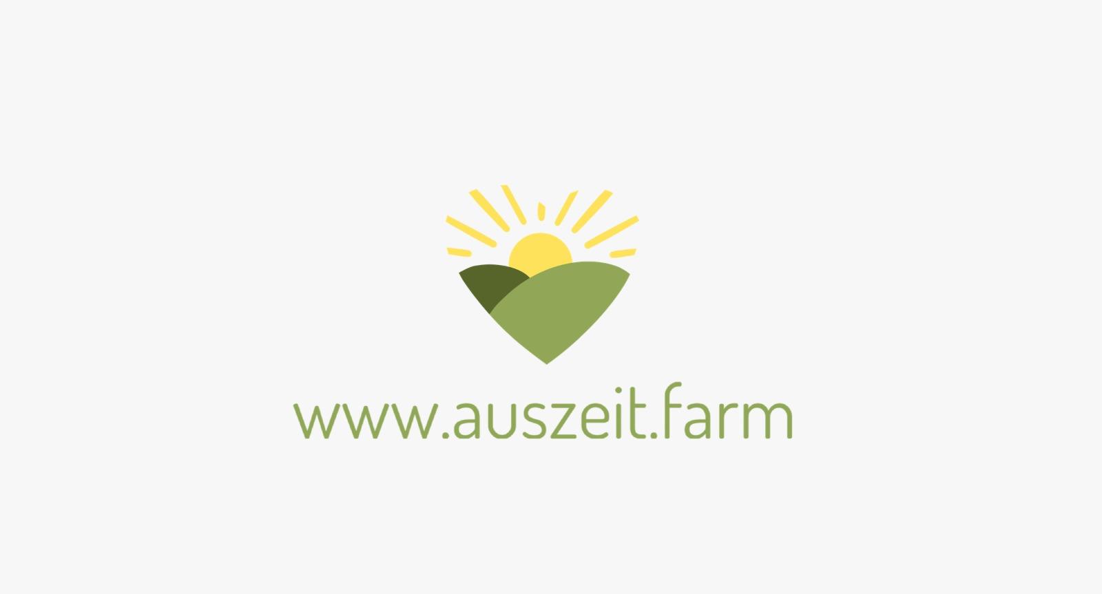 Logo Auszeit.farm Sabrine Callaert